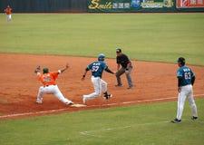 Jogo de basebol profissional Foto de Stock Royalty Free