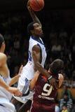 Jogo de basquetebol de Kaposvar - de Salgotarjan Foto de Stock