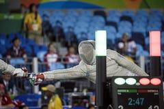 Jogo 2016 de Brasil - de Rio De janeiro - de Paralympic que cerca Fotos de Stock Royalty Free