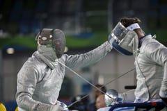 Jogo 2016 de Brasil - de Rio De janeiro - de Paralympic que cerca Foto de Stock Royalty Free