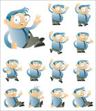 Jogo de caracteres dois Fotos de Stock