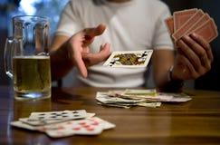 Jogo de cartão Imagens de Stock Royalty Free