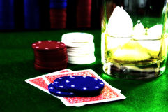 Jogo de cartão 5 Foto de Stock Royalty Free