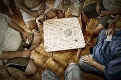 Jogo de cartas de Truco Fotografia de Stock Royalty Free