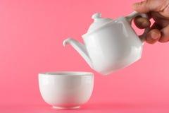 Jogo de chá Imagens de Stock Royalty Free