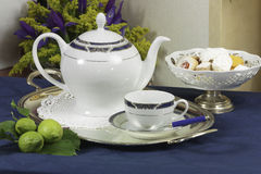 Jogo de chá 2 Fotos de Stock Royalty Free