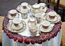Jogo de chá Imagem de Stock
