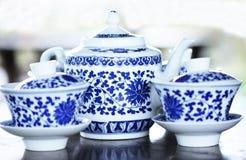 Jogo de chá Foto de Stock Royalty Free