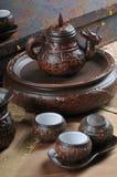 Jogo de chá Fotos de Stock Royalty Free