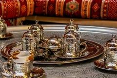 Jogo de chá antigo Fotos de Stock Royalty Free