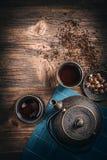 Jogo de chá asiático Imagens de Stock