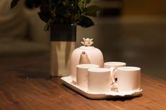 Jogo de chá chinês foto de stock royalty free
