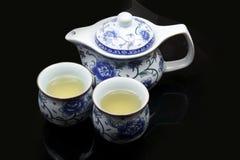 Jogo de chá chinês fotografia de stock royalty free