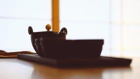 Jogo de chá chinês imagem de stock
