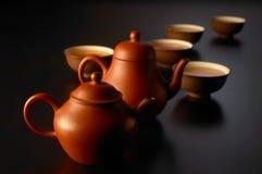 Jogo de chá chinês Fotografia de Stock
