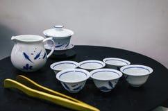 Jogo de chá chinês Imagens de Stock