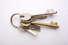 Jogo de chaves da casa Foto de Stock