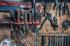 Jogo de chaves de fenda usadas Fotos de Stock