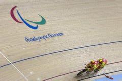 Jogo de ciclagem do jogo 2016 de Brasil - de Rio De janeiro - de Paralympic Imagem de Stock Royalty Free