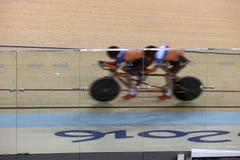 Jogo de ciclagem do jogo 2016 de Brasil - de Rio De janeiro - de Paralympic Imagem de Stock