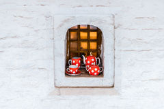 Jogo de Cofee Fotos de Stock Royalty Free