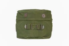 Jogo de confusão militar com tampa verde usada Imagens de Stock Royalty Free