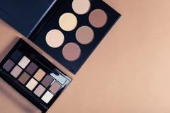 Jogo de cosméticos decorativos Foto de Stock