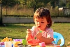 Jogo de criança Foto de Stock