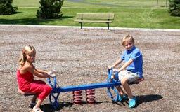 Jogo de criança Fotografia de Stock Royalty Free
