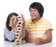 Jogo de crianças foto de stock royalty free