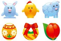 Jogo de Easter Fotografia de Stock