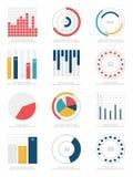 jogo de elementos de Infographic Foto de Stock