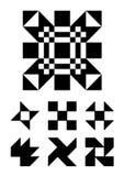 Jogo de elementos do projeto Imagem de Stock Royalty Free