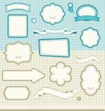 Jogo de elementos do projeto Imagem de Stock