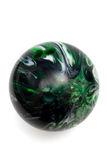Jogo de esfera no bowling imagens de stock royalty free