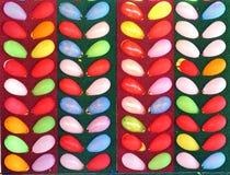 Jogo de estalo do balão colorido imagens de stock royalty free