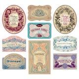 Jogo de etiquetas do vintage (vetor) Imagem de Stock Royalty Free