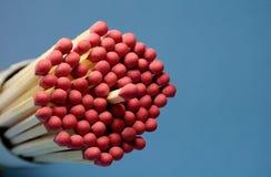 Jogo de fósforos vermelhos Imagem de Stock Royalty Free