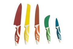 Jogo de facas de cozinha Imagens de Stock