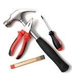 Jogo de ferramentas da construção Imagem de Stock