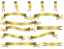 Jogo de fitas do ouro ilustração royalty free