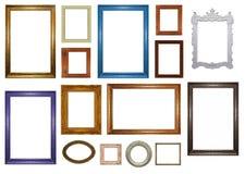 Jogo de frames de retrato Imagem de Stock