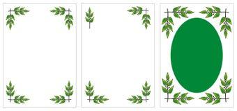 Jogo de frames decorativos originais ilustração do vetor