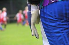 Jogo de futebol Foto de Stock Royalty Free