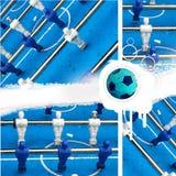 Jogo de futebol de Grunge Imagem de Stock