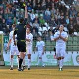 Jogo de futebol de Kaposvar - de Siofok Imagem de Stock
