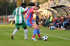 Jogo de futebol de Kaposvar - de Vasas Imagens de Stock Royalty Free