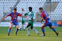 Jogo de futebol de Kaposvar - de Vasas Imagem de Stock Royalty Free