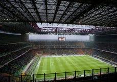 Jogo de futebol italiano do campeonato Imagens de Stock Royalty Free