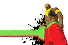 Jogo de Gangsta. Imagens de Stock Royalty Free